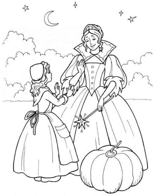 fairy tale printable coloring pages. Black Bedroom Furniture Sets. Home Design Ideas