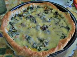 Quirky Quiche with Phyllo