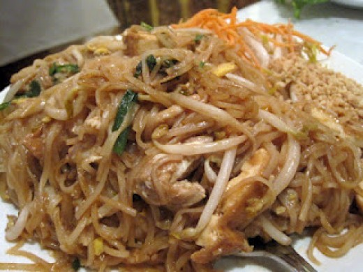 Siam Garden Cafe Pad Thai