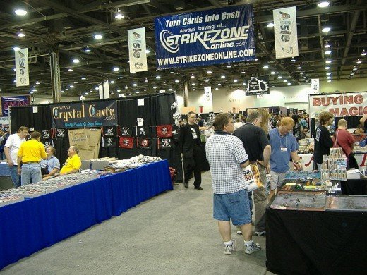 Origins Game Fair Exhibit Hall (The Retail Area)