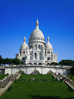 The Basilica of the Sacre Coeur, Montmartre