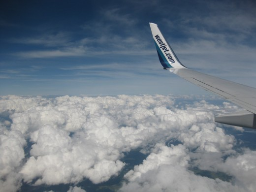 Enroute to Halifax with Westjet Travel