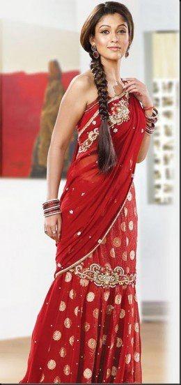 Indian Saree Hairstyles