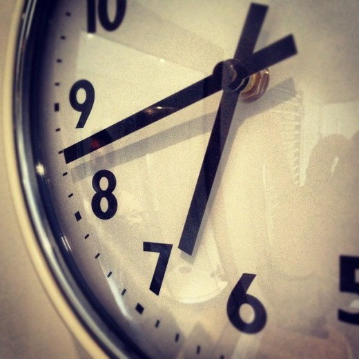 Clock - with Instagram