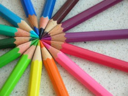 Artists are like these colored pencils; we all have our own unique personalities and sometimes clash with each other, but ultimately we all come together towards common goals.