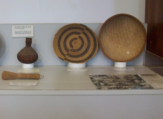 Some Afrcan woven trays