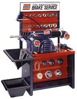 A decent brake lathe like this will last forty years and still do a perfect job.