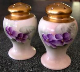 Noritake Salt and Pepper Shakers