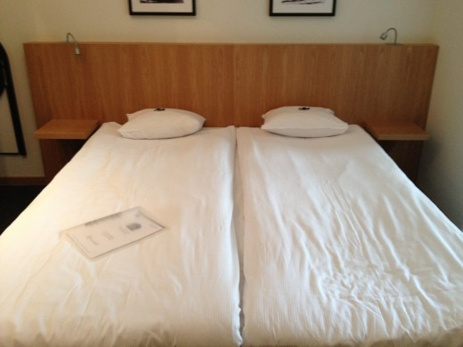 The most important in a hotel room is the bed!
