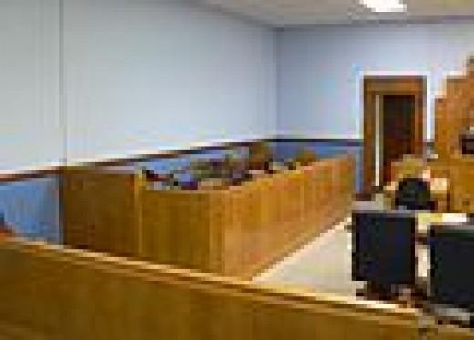 The Jury box...