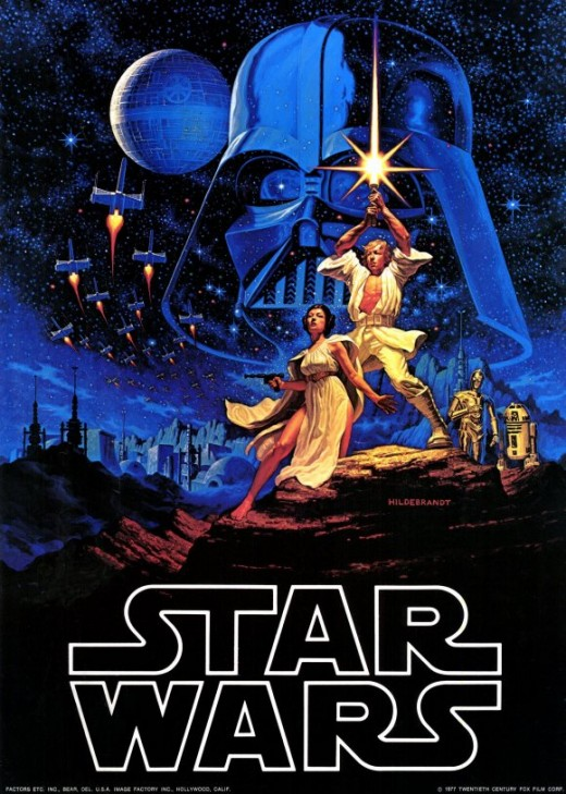 Poster art by Greg and Tim Hildebrandt