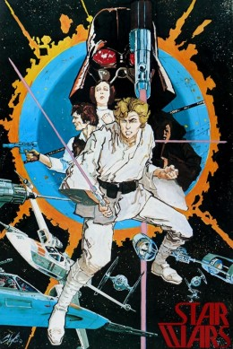 Poster art by Howard Chaykin
