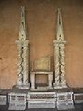 A Pope Throne...