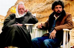 Alec Guinness with George Lucas