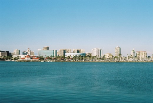 Downtown Long Beach Skyline