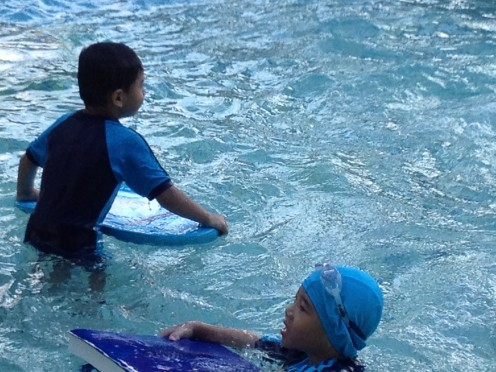 If the holiday is, summer holidays then certainly water splash is best to have fun and exercise too. For toddlers fun swimming pool is the best.