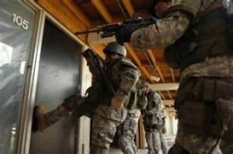SWAT doesn't use knock-knock jokes. They just bust in and then you KNOW who's there.