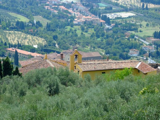 Hills above Florence