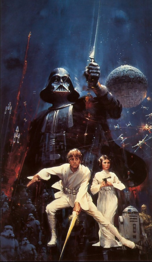 Poster art by John Berkey