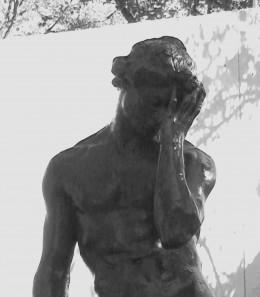 Adam by Emile-Antoine Bourdelle