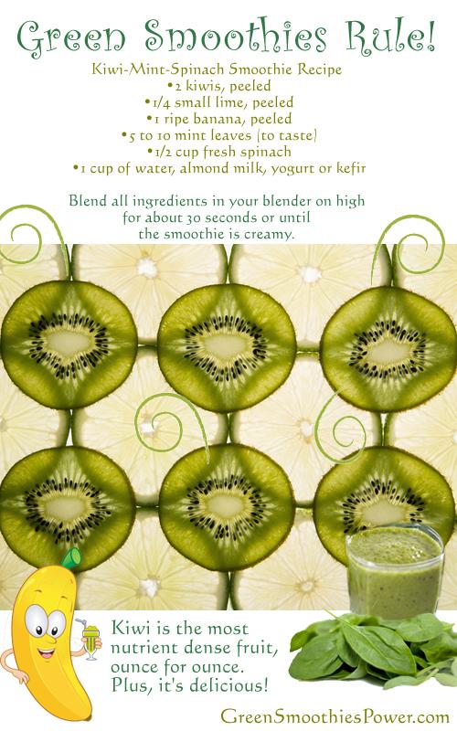 http://greensmoothiespower.com/kiwi-smoothie-recipes/