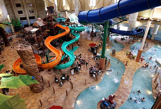 Great wolf lodge in Garden Grove, CA