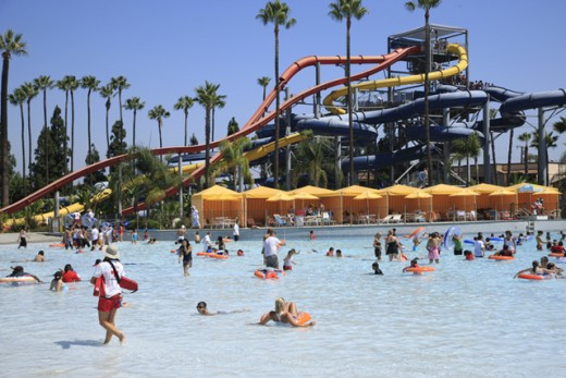 Knott's soak city seasonal water park, California