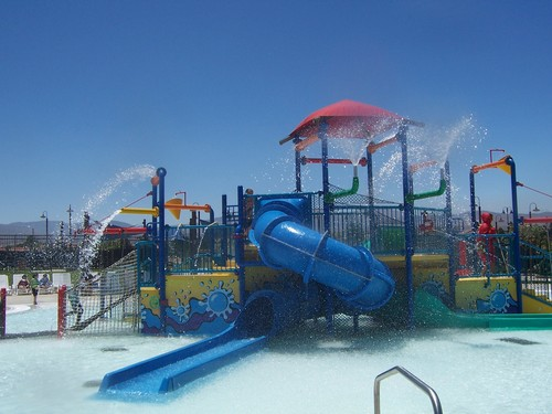 Dry town water park in Palmdale, CA