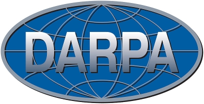 DARPA logo as of January 2009. It is obsolete now. To show the current logo requires a written license agreement.