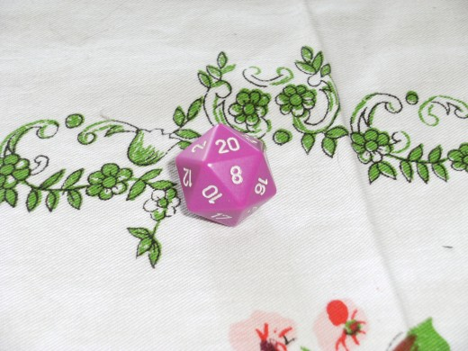 Players use this dice as the main dice when playing Dungeons and Dragons.