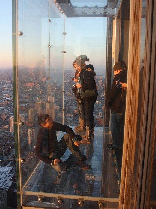Skydeck Chicago's The Ledge
