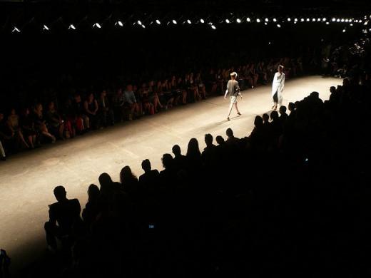 Yigal Azrouel runway show, 2008