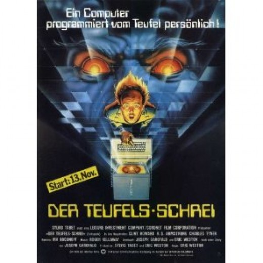 German movie poster. Don't ask me to translate it, my high school German class was a LONG time ago.