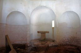 Interior of St. Sauvier