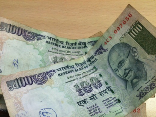 Dollar up and rupee down why rupee 100 note - Indian currency