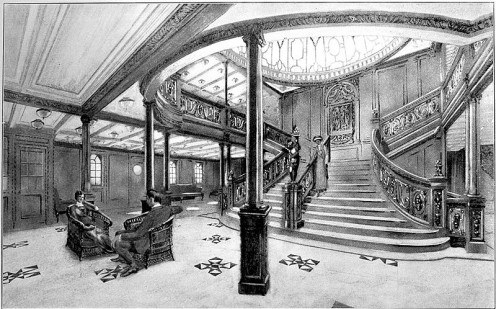 The Grand Staircase of RMS Titanic