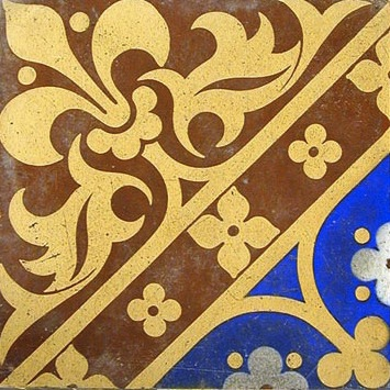 Example of an Encaustic Tile