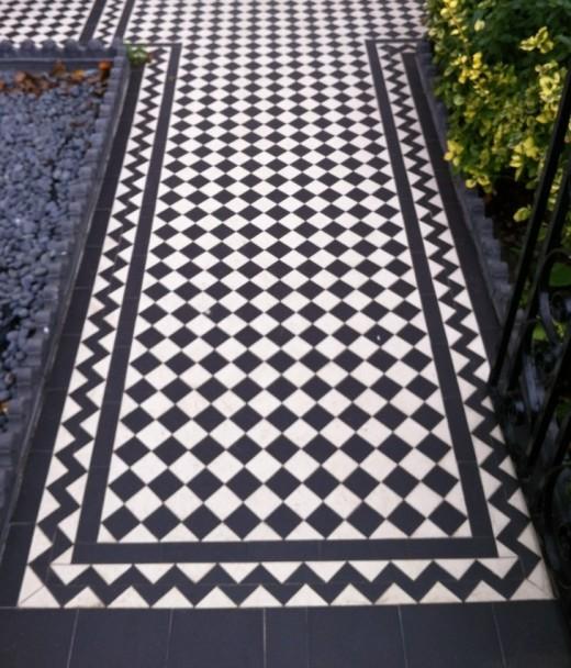 Victorian Floor Tiled Path