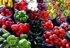 Fruits and Vegetables to stop Free Radical Damage