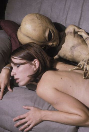 Alien sex or are they sleeping?