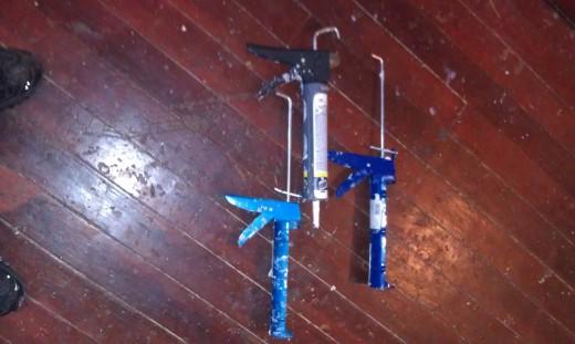 Caulk and Caulk Guns