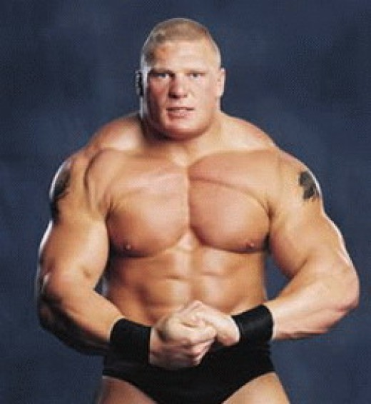 The Muscled-Up Brock Lesnar