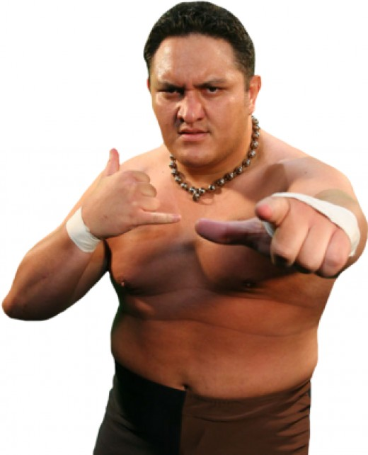 The Samoan Submission Machine Samoa Joe