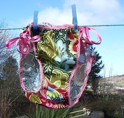 Panties are an original creation of the mysterious seamstress at Turn and Press.... http://turnandpress.typepad.com/
