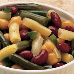 Exceptional Marinated Four Bean Salad