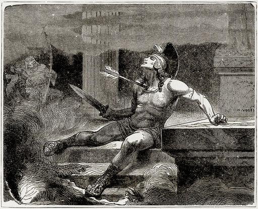 Death of Alcibiades