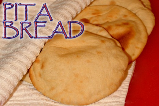 Finished Pita Bread