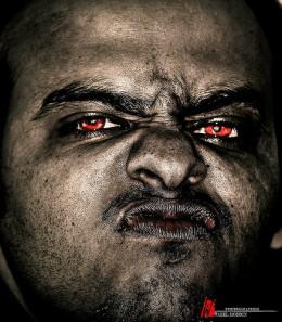 """Anger from  WaEeL""""  Back, Source: flickr.com"""