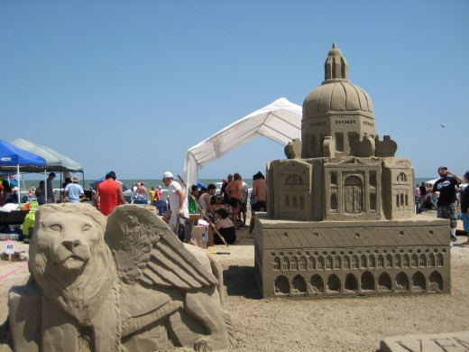 Welcome to the 2012 Galveston AIA Sandcastle Competition
