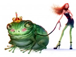 Daughters and Their Frogs